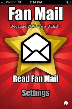 Fan Mail App
