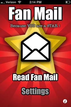 Fan Mail App